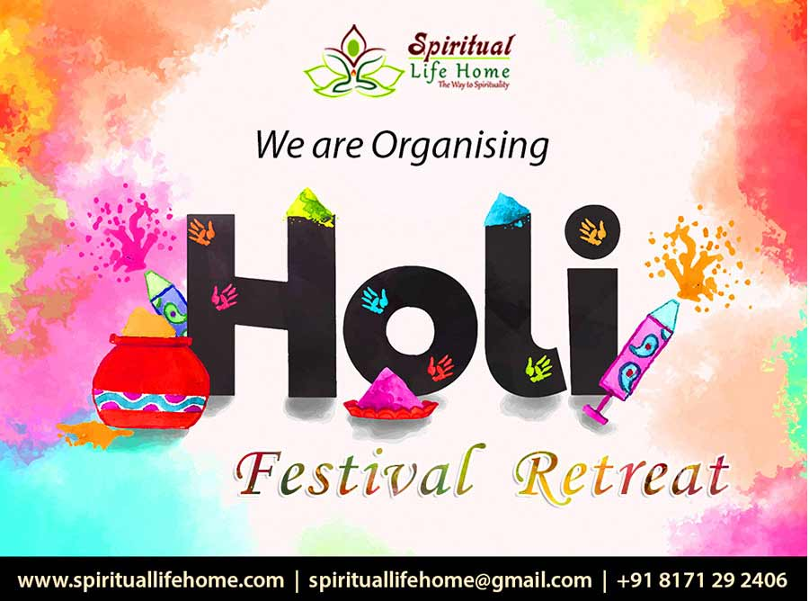 Holi Festival Retret in Rishikesh